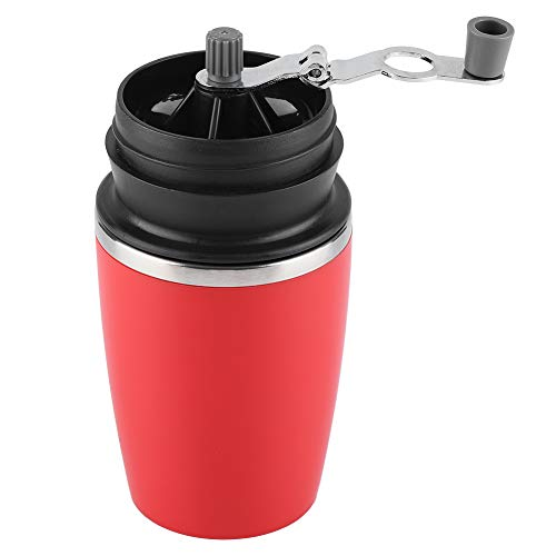 Fdit Stainless Steel Portable Manual Coffee Bean Grinder Beans Corns Grains Grinding Hand Tool