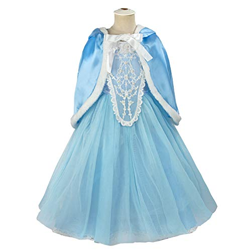 Acecharming Girls' Costume Cosplay Princess Party Fancy Dress Size S(4) -
