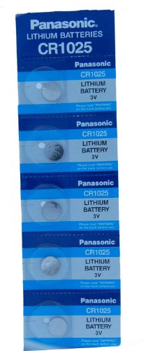 Panasonic Batteries CR1025 3 Volt 3 Volt Lithium CR1025 Coin