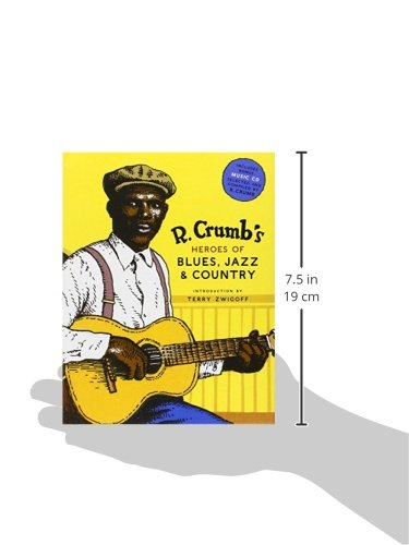R Crumbs Heroes Of Blues Jazz Country Crumb 9780810930865 Amazon Books