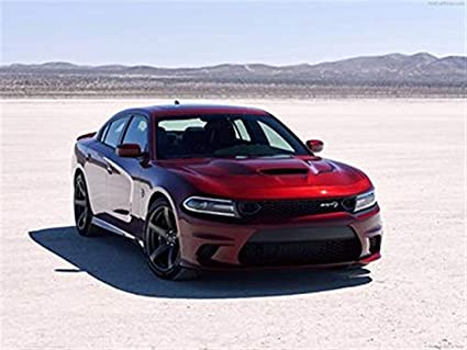 Dodge Charger Srt >> Amazon Com Dodge Charger Srt Hellcat 2019 Poster 18 X 24
