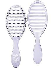 Wet Brush Osmosis Speed Dry Hair Diseño ventilado y cerdas ultra suaves HeatFlex son seguras para secar, con mango ergonómico que gestiona enredos y cabello incontrolable, morado, 1 unidad