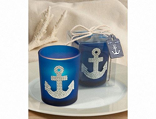 Spectacular Anchor Design Candle Favors, 25