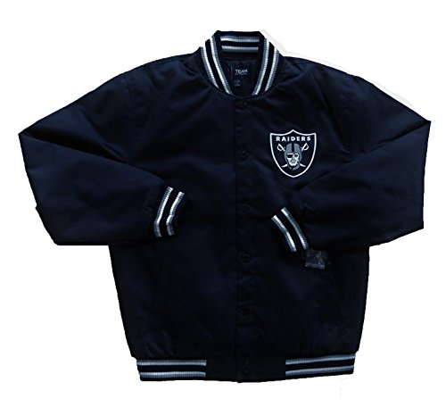 Oakland Raiders Mesh Poly-Twill Quilted Jacket (X-Large) for sale  Delivered anywhere in USA
