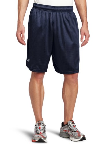 Russell Athletic Men's Mesh Short with Pockets, Navy, ()