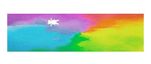 グリズリー (GRIZZLY) WATER TIE-DYE CUTOUT GRIPTAPE スケボー デッキテープ グリップテープ スケートボード