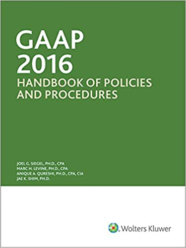 GAAP Guidebook: 2016 Edition download pdf