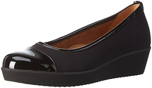 Gabor Shoes Comfort Basic, Zapatos de Tacón para Mujer Negro (Schwarz 87)