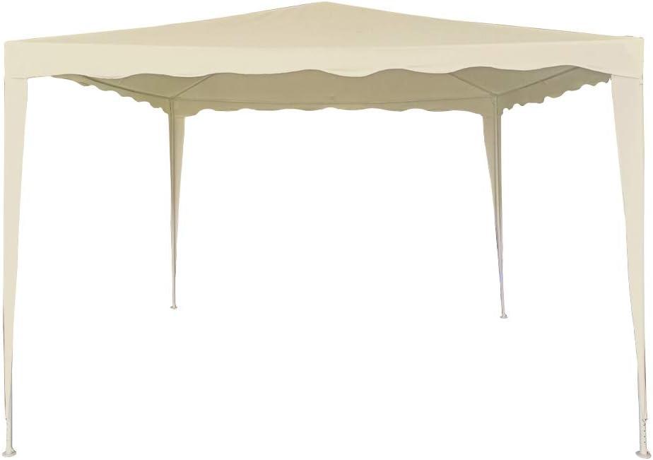 Aktive 61023 - Cenador crema 300 x 300 x 240 Garden: Amazon.es: Jardín