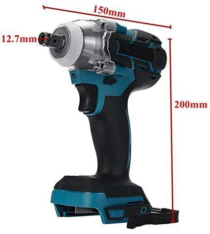Réel MEICHEN 18V 520nm électrique Rechargeable brushless Clé à Chocs sans Fil 1/2 Clé à Douille Outils électriques DTW285ZNOTE: (Ce Produit ne Comprend Pas Les Piles !!)  KB93S
