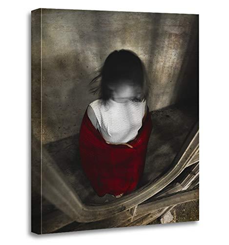 Emvency Painting Canvas Print Artwork Decorative Print Horror