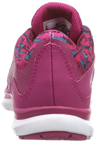 Nike Femmes Flex Formateur 5 Impression Formation Chaussure Sport Fuchsia / Blanc / Tl / Vvd Pnk