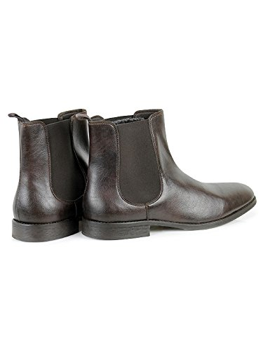 Dark Brown Vegan Will's Boots Chelsea Shoes aSIq6H