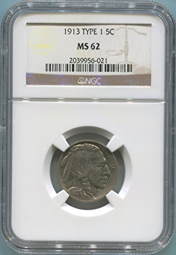 Ms62 Nickels (1913 P Buffalo Nickel Nickel MS62 NGC)