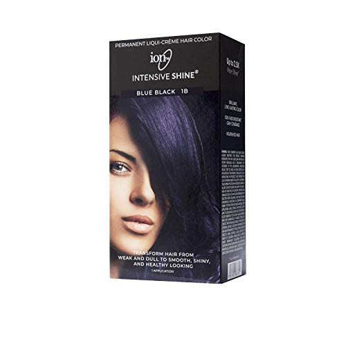 Ion Intensive Shine Hair Color Kit Blue Black 1B Blue Black 1B