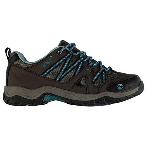 De Ottawa Brown Senderismo Teal Mujer Gelert Trekking Zapatillas Fgx4Zwq