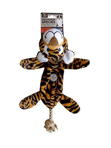 Endangered Species European Home Designs Bengal Tiger Dog Toy ()