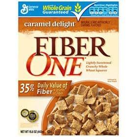FIBER ONE CEREAL Caramel Delight - Case