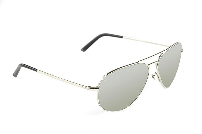 Porsche Design - Gafas de sol - para mujer plateado: Amazon ...
