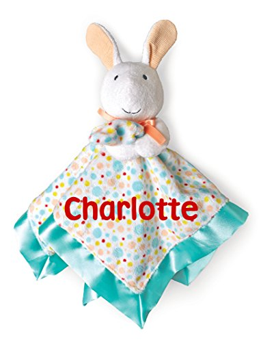 Personalized Pat The Bunny Snuggle Blanky Blanket - 17 Inches