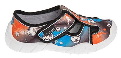 Pantofola In Velcro RotFußball Viggami Adas Con Chiusura Ragazzo uTOkPXZi