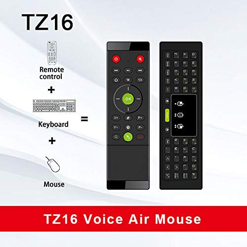 YOUKITTY Tz16 2.4Ghz Air Mouse Wireless Keyboard Touchpad Handheld Remote Control Gyroscope Led Backlight for Android Tv Box Pc Laptop
