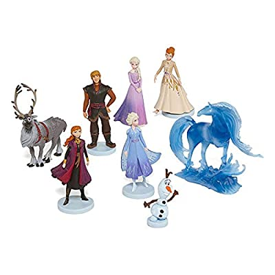 Toys Disney Frozen 2 Collection Deluxe 8 Piece Figure Play-Set