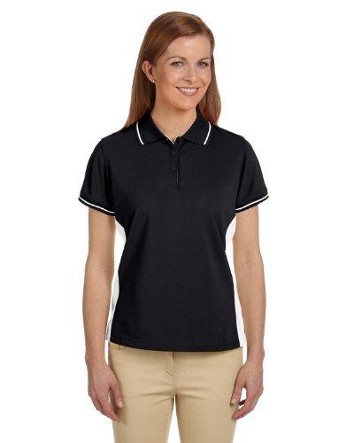 - Devon & Jones Women's Short Sleeve Dri-Fast Advantage Pique Polo Golf Shirt DG380W black Small