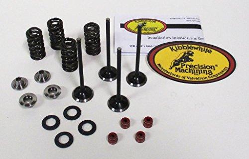 Kibblewhite Intake and Exhaust Valves and Spring Kit Honda CRF 250R 04-07 250X 04-13