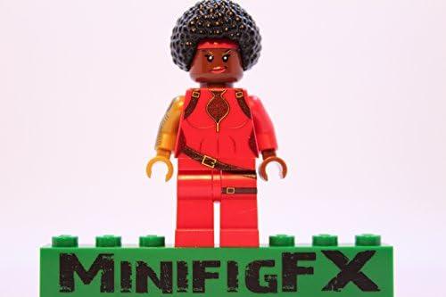 LEGO Custom Misty Knight Minifig Marvel Super Hero Defenders Heroine