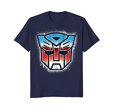 Transformers Shield Logo Graphic T-Shirt
