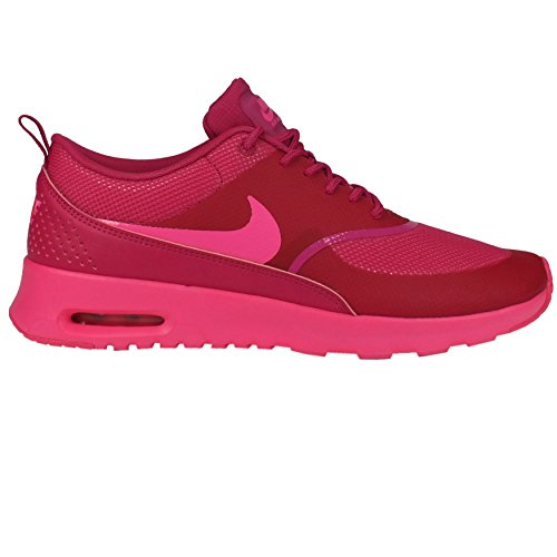 los angeles 8cc91 89855 Nike Women s Air Max Thea Running Shoe Pink Pow Fireberry 7.5
