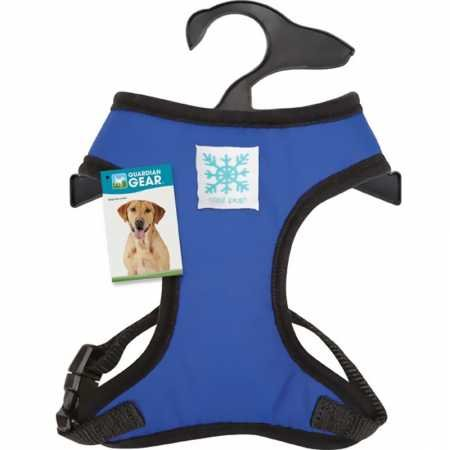 Guardian Gear Cool Pup Reflective Harness for Dogs, Medium, Light Blue ()