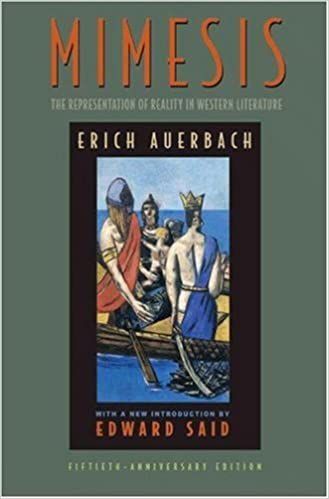 Mimesis: The Representation of Reality in Western Literature by Erich  Auerbach (1953-10-21): Erich Auerbach: Amazon.com: Books