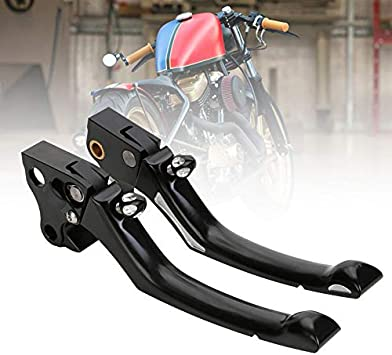 HTTMT MT241-027B Rubber Brake Clutch Hand Lever Compatible with Harley 96-03 XL//96-07 Dyna Touring//96-07 Softail