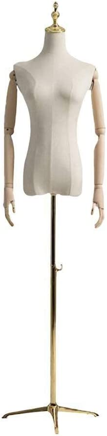Dress Forms Tailors Dummy Female Mannequin Body Torso Womens Clothing Display Professional Color : A, Size : Small