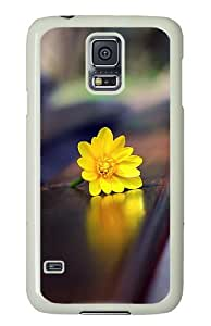 Samsung Galaxy S5 Case Cover - Romantic Bench Custom Design PC White Case Cover for Samsung Galaxy S5