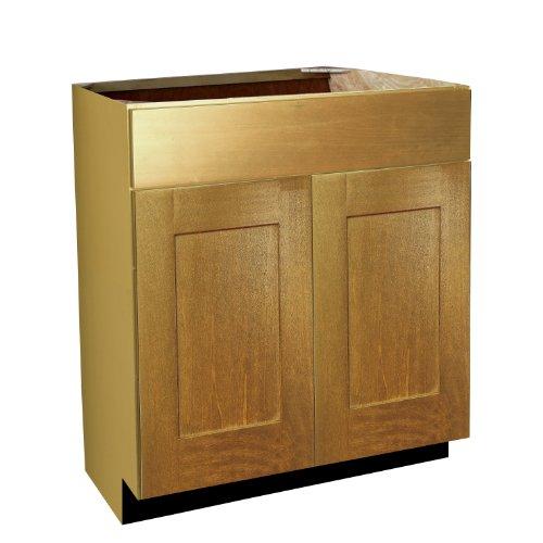 Shaker Panel Door Style Vanity Sink Base 36
