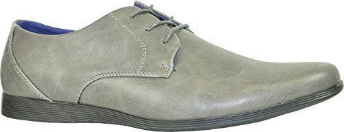Coronado Men Casual Shoes Cole-2 Comfort Soft Classic Oxford With A Plain Toe Grey 55wYHroqk