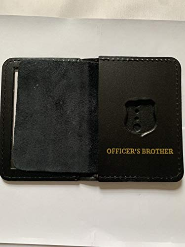 mini police officer brother courtesy shield and ID WALLET ()