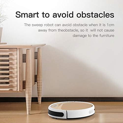 DGEG Robots Aspirateurs, Décapant Intelligent De Robot De Moteur De Moteur sans Brosse De Réservoir d\'eau Humide À La Maison Sèche Robot De Nettoyage
