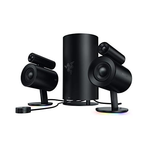 chollos oferta descuentos barato Razer Nommo Pro Thx Certified Premium Audio Sistema de Altavoces para Juegos Sonido Envolvente Dolby Virtual Negro Talla Única