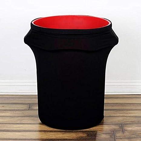 Amazon.com: efavormart Nueva Ronda de 24 – 40 galones Negro ...