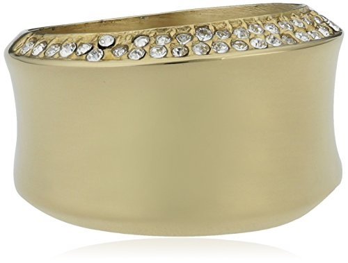 ESPRIT Damen Ring Edelstahl Gold Crystal Curved ESRG12542B1  Amazon.de   Schmuck 139ec96a98