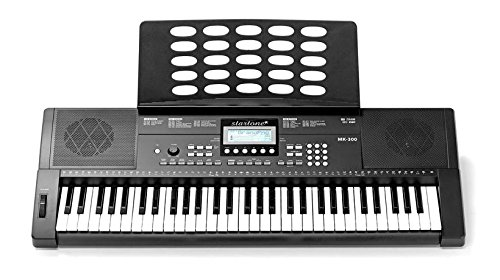 Teclado MK300 61 teclas con accompagnamenti: Amazon.es: Instrumentos musicales