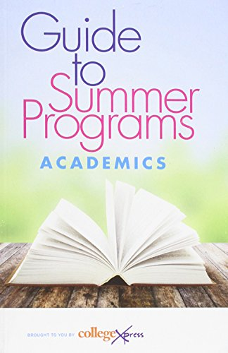 Guide To Summer Programs 2014 2015  An Objective  Comparative Reference Source For Residential Summer Programs  Guide To Summer Camps And Summer Schools
