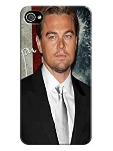 hot iphone Phone Case cover fashionable Cool Leonardo Dicaprio designed Protective TPU Case for iphone 4/4s