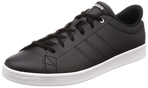 Adidas Women's Advantage Clean QT Low-Top Sneakers, Core Black/Footwear White 0, 5.5 UK, 38 2/3 EUDB1370