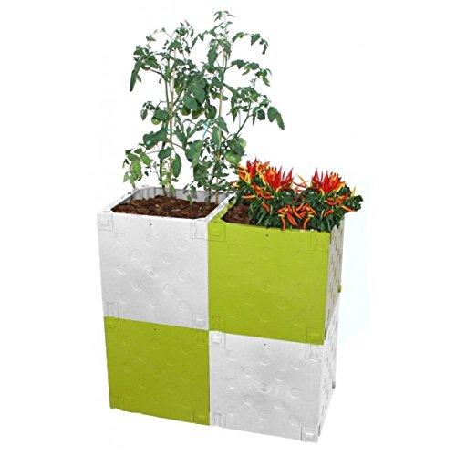 Blumenkasten Modular mit austauschbaren Farben Terra Basic Pack tbp40602