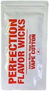 SAITO WIRE vopors creation PERFECTION FLAVOR WICKS パーフェクション ウィックス VAPE ベイプ 電子タバコ VAPE専用 コットン ビルド 用ウィック 国産 日本製